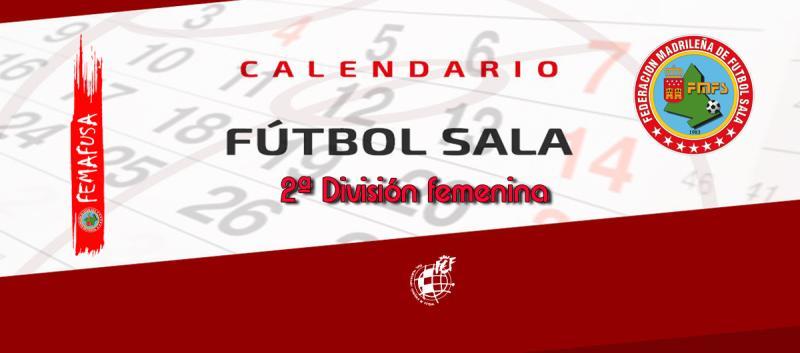 Calendario De Segunda Division De Futbol.Federacion Madrilena De Futbol Sala Calendario 2ª Division G4